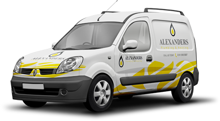 Quality Plumbers Clydebank- Our Van
